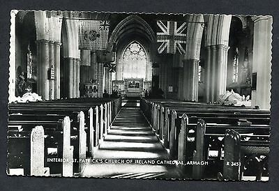 View of the Interior, St Patrick's Church of Ireland, Armagh. Posted 1968.
