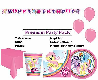 My Little Pony 8-48 Guest Premium Party Pack | Tableware | Balloons | Decoration