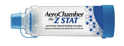 Aerochamber Plus Z-Stat Holding Chamber With Mouthpiece