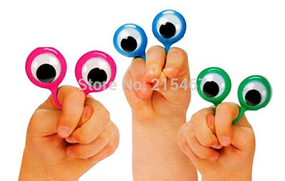12 pc Finger Eyes Puppets googily kids Pinata Filler Lucky Prize Birthday Party