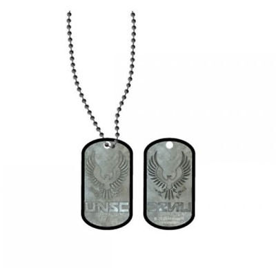 Halo 5 Metal Dog Tag Microsoft Licensed Necklace
