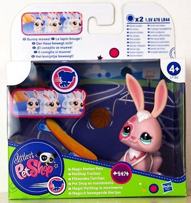 Littlest Pet Shop - Magic Motion Pets - Conejo - Bunny #2474