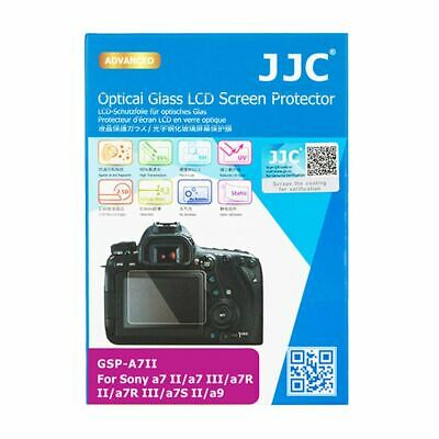 JJC GSP-A7II Optical Glass LCD Screen Cover for Sony A9, A7 RII, A7 II, A7S II