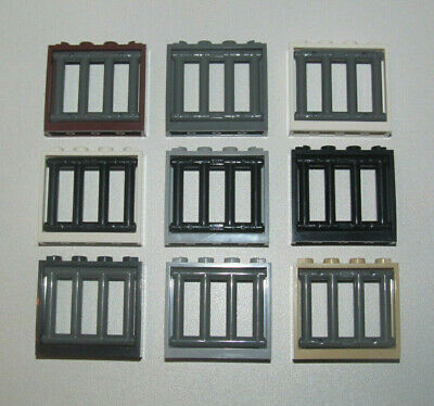 60594 60603 choose color LEGO Vitre Glass pour Fenetre Windows 1x4x3 Roof