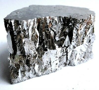 Bismuth Metal 3kg's 99.99% Pure Bullion 4N Grade Bar Ingot Piece Lump Chunk
