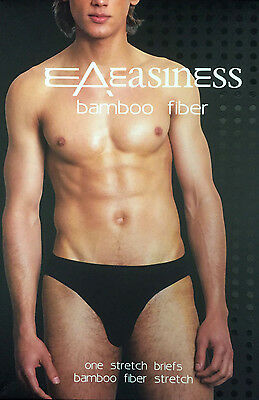3 x Bamboo Fiber Mens Underwear Undies Underpants BRIEFS Assorted New (P2)