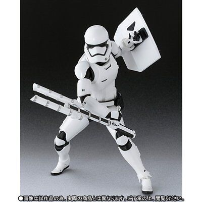 BANDAI S.H.Figuarts First Order Storm Trooper&(Shield & Baton) Figure Star Wars