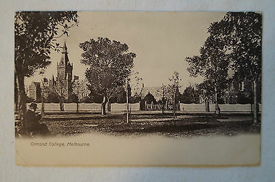 Ormond College - Melbourne - Collectable - Vintage - Postcard.