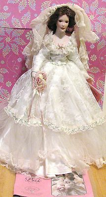 TREASURY COLLECTION PORCELAIN DOLLS Bride PARADISE GALLERIES
