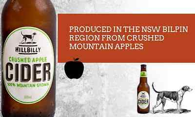 Hillbilly Crushed Apple Cider - 2014 Silver Winner