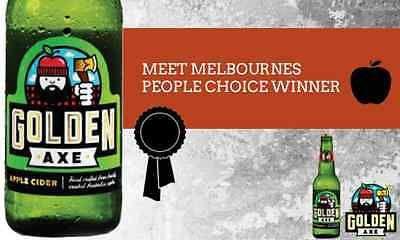 Golden Axe Apple Cider - 2014 Silver Winner for Best Sweet Cider