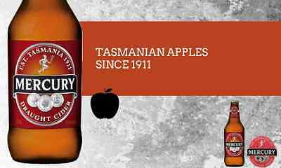 Mercury Cider - Draught, 375ml