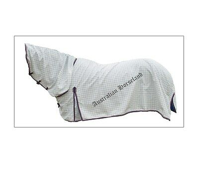 Poly Cotton Breathable Ripstop Summer Combo Horse Rug