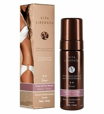 VITA LIBERATA Tinted Self Tan Mousse for Body 100 ml