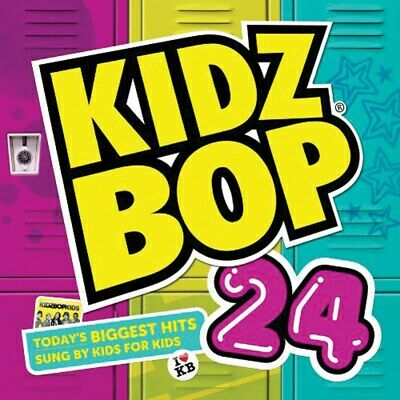 Kidz Bop 24 CD - Today's Biggest Hits sung by Kids for Kids