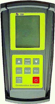 TPI TEST PRODUCTS INTERNATIONAL 709 Combustion Efficient Analyzer