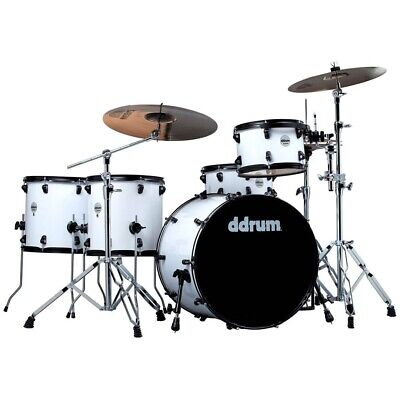 DDrum JMr522 WHT White - BATTERIA ACUSTICA Journeyman Rambler