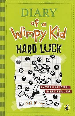 Hard Luck (Diary of a Wimpy Kid book 8) by Jeff Kinney Paperback