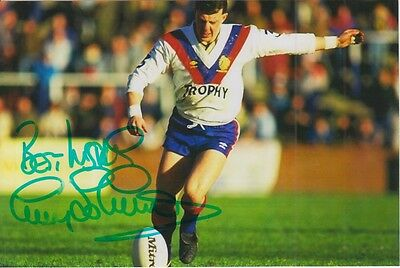 Great Britain Hand Signed Garry Schofield 6X4 Photo Rugby League 2.