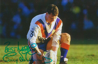 Great Britain Hand Signed Garry Schofield 6X4 Photo Rugby League 4.