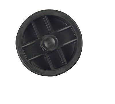 """Sioux Chief Recessed Plug 2 """" Abs Polypropylene Brass"""