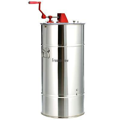 Pro 2 Frame Beekeeping Equipment Large Stainless Steel SS Honey Extractor