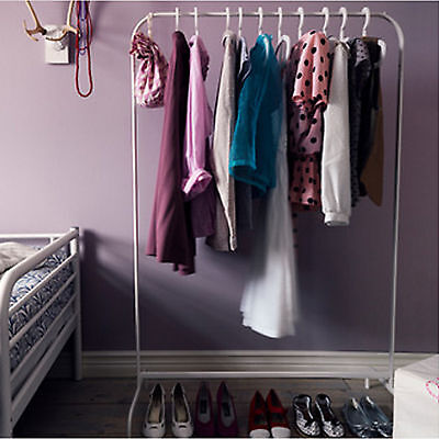 NEW IKEA Clothes Garment Rack Hanger Portable Organiser Clothing Wardrobe