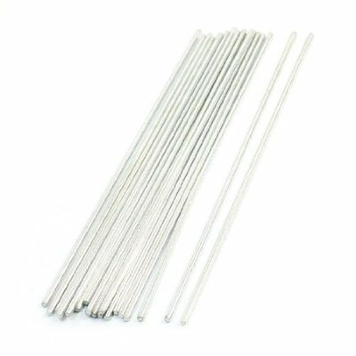 20Pcs Stainless Steel Round Shaft Rod Axles 150mmx2mm for RC Toy Car New