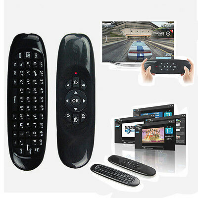 Wireless Remote Controller Keyboard Air Mouse Para PC Android Smart TV Box Table