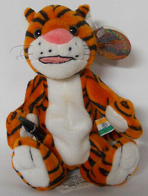 1999 Coca-Cola India Curry the Tiger Mini Bean Bag-Beanie