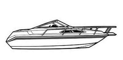 TRAILERABLE BOAT COVER FOUR WINNS LIBERATOR 204 I//O 1983 1984 ALL WEATHER