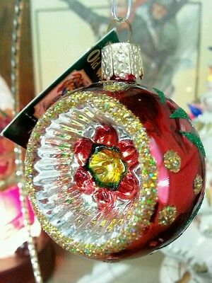 Old World Christmas, Old Fashioned Reflector, Ornaments (INGE GLASS Collection)