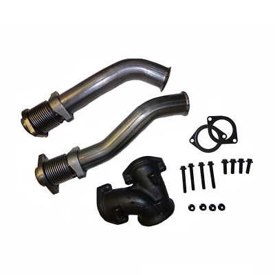 Bellowed Up Pipe Kit 1999-2003 Ford 7.3L 7.3 Powerstroke Turbo Diesel