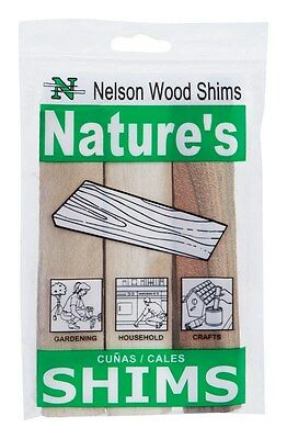 """Nelson Wood Shims 6 """" Pack"""