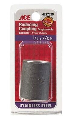 "Smith-Cooper Reducing Coupling Stainless 304 1/2 "" X 3/8 """