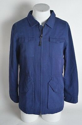 2015 NWT MENS DEPACTUS ADMIRAL JACKET $120 M depactus navy cotton ottoman pocket