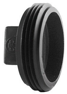 """Charlotte Pipe Cleanout Plug Abs/Dwv 2-1/2 """" Black"""