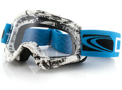 Carve Friction Kids Mx Clear Lens Motorcross Moto X Goggle