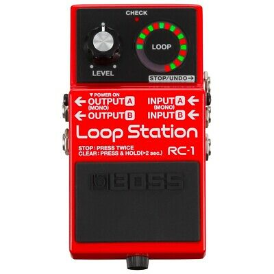 BOSS RC1 Pedale loop station / Effetto pedale per chitarra elettrica
