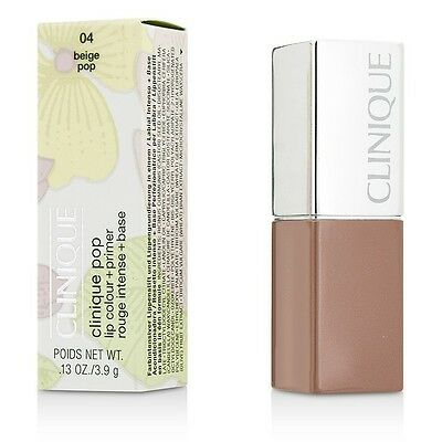 NEW Clinique Clinique Pop Lip Colour + Primer (# 04 Beige Pop) 3.9g/0.13oz