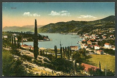 C1920's View of the Port & Town, Gruz (Gravosa), Croatia