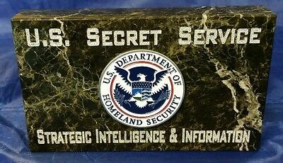 U.S. Secret Service Strategic Intelligence & Information Full Color DHS Emblem