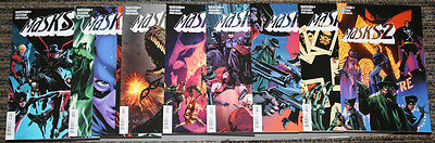 Dynamite Masks 2 # 1-8 COMPLETE - All Guice Covers - Bunn