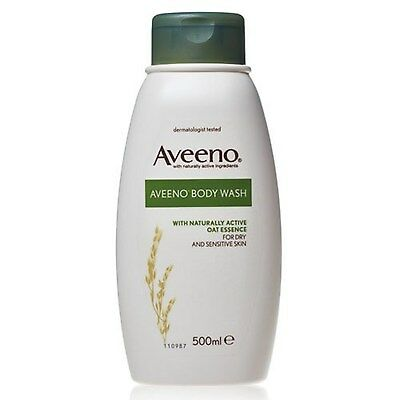 Aveeno Body Wash for Dry and Sensitive Skin 500 ml