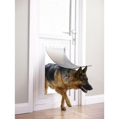 Staywell, Petsafe 660Ml Aluminium Extra Large Pet Door Suitable For Cats, Dogs