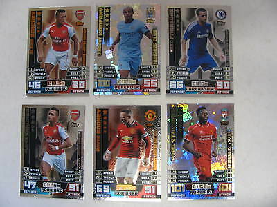 Match Attax 2014 2015 Limited Edition Hundred Club 100 English Premier League 15