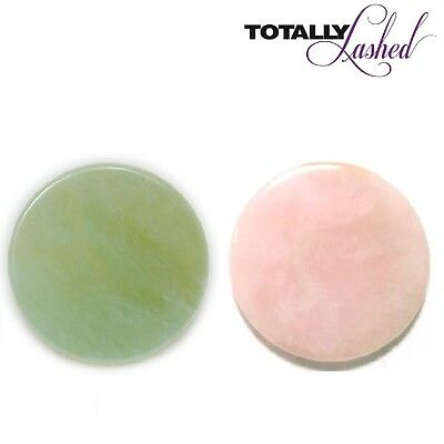 TOTALLY Lashed - JADE STONE - Glue Adhesive Holder Eyelash Extension PINK/GREEN