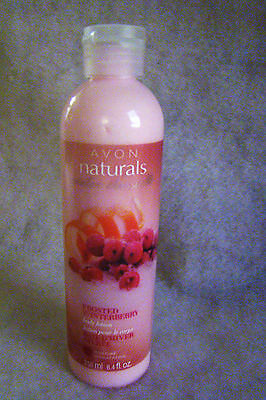 New AVON NATURALS Set Frosted Winterberry Moisture Body Wash and Lotion