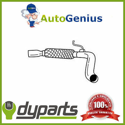 Tubo gas scarico flessibile  FIAT MULTIPLA 1.6 16V natural Bi-power 01>10 12204