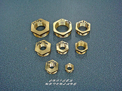 Brass Reducing Hexagonal Bush Male To Female Bsp Various Sizes